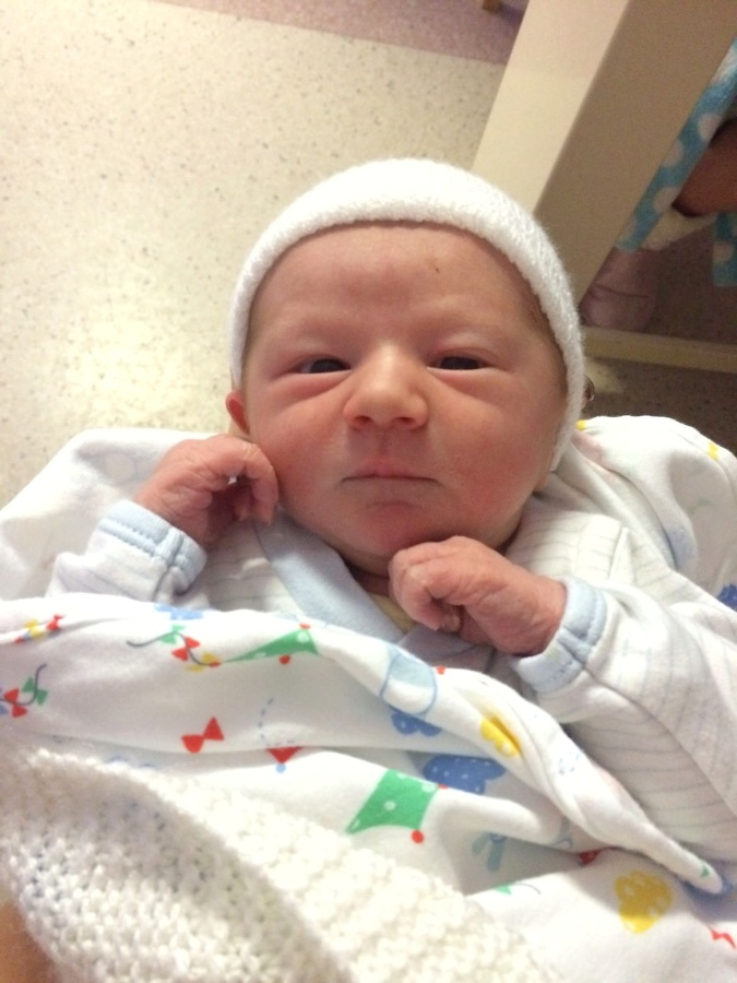 Week 39 – and behold, a baby isborn.